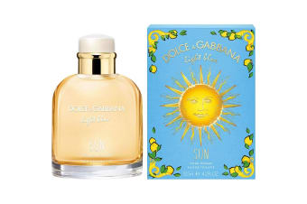 Light Blue Sun Pour Homme Limited Edition for Men EDT 125ml