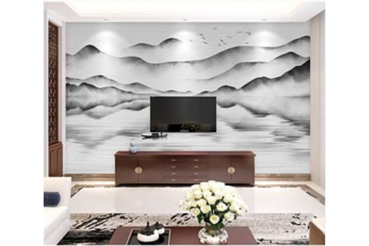 3D landscape Painting 208 Wall Murals Woven paper (need glue), XXL 312cm x 219cm (WxH)(123''x87'')