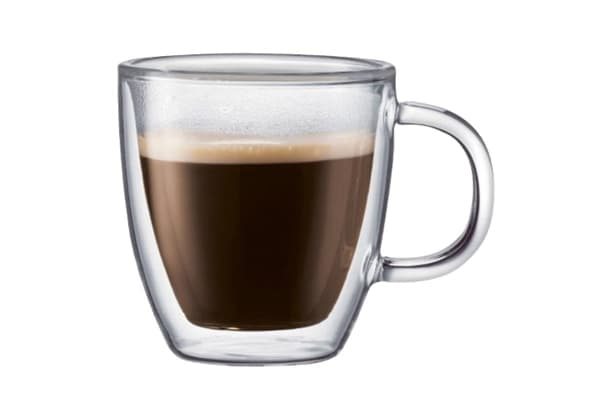 Bodum Bistro Double Wall Mug 150ml 2 Pack (10602-10)