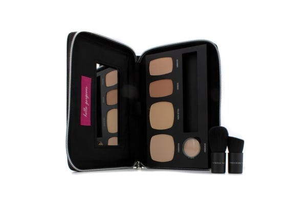 Bare Escentuals BareMinerals Ready To Go Complexion Perfection Palette - # R210 (For Medium Cool Skin Tones) (-)