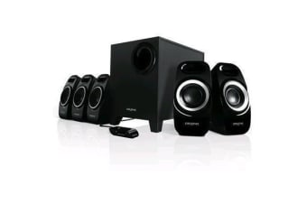 Creative Inspire T6300 (5.1) Surround Speaker System with Wired Remote Control for Music