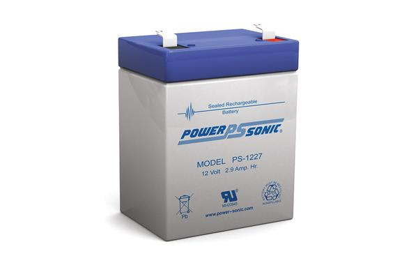 Power Sonic 12V 2.9 Amp Sla Battery