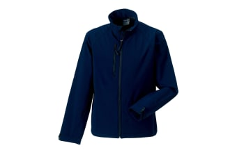 Russell Mens Water Resistant & Windproof Softshell Jacket (French Navy) (2XL)