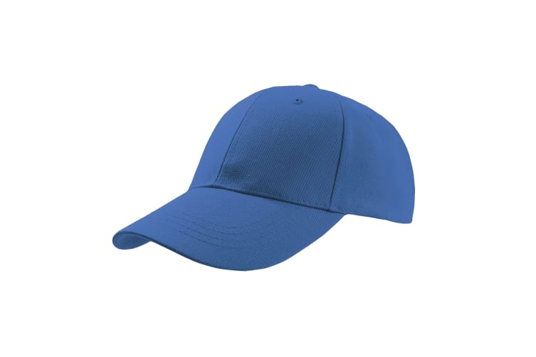 Atlantis Zoom Sports 6 Panel Baseball Cap (Pack of 2) (Royal) (One Size)