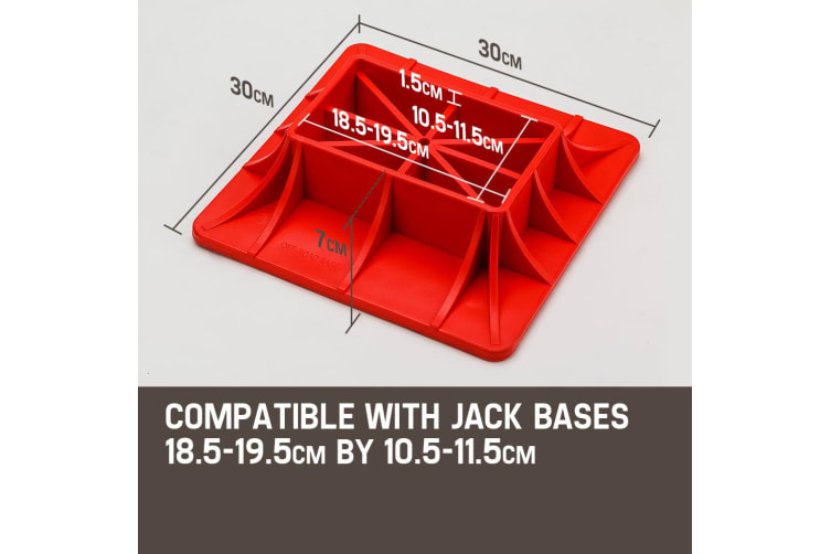 T-REX 4X4 High Lift Jack Base Plate 4WD Off Road Mud Sand Recovery 48 Inch