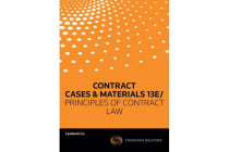 Contract - Cases & Materials 13e/ Principles of Contract Law