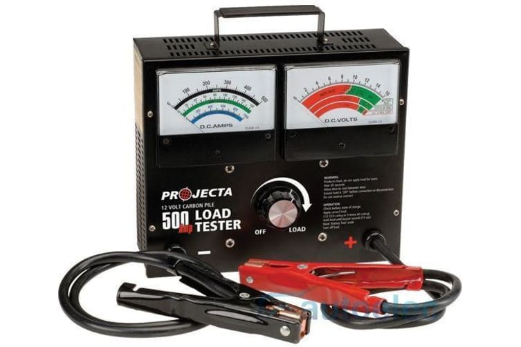 PROJECTA BLT200 12 V VOLT 500 AMP CARBON PILE LOAD BATTERY CHARGE TESTER CHECKER