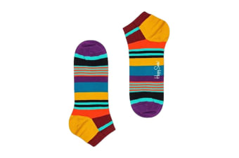 Happy Socks Multi Stripe Low Sock (Orange, Size 36-40)