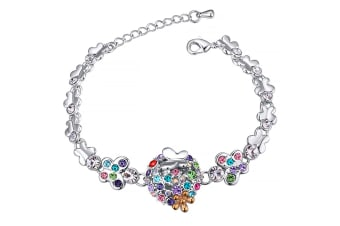 Butterfly Meadow Multicolour Bracelet Embellished with Swarovski crystals