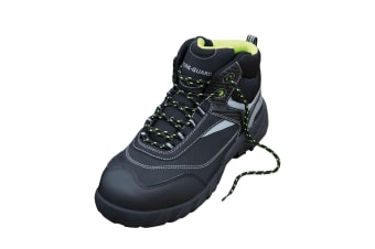 Result Workguard Mens Blackwatch Lace-Up Safety Boots (Black/Silver) (11 UK)