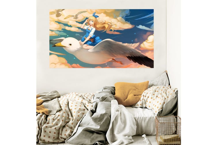 3D Sailor Moon 653 Anime Wall Stickers Self-adhesive Vinyl, 100cm x 60cm(39.3'' x 23.6'') (WxH)