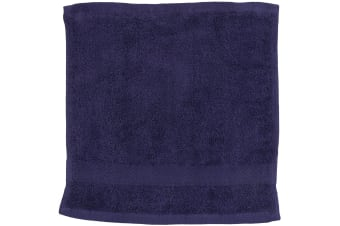 Towel City Luxury Range 550 GSM - Face Cloth / Towel (30 X 30 CM) (Navy)