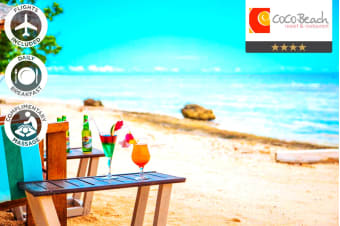 VANUATU: 5 Nights at Coco Beach Resort Including Flights for Two