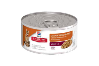 Hills Science Diet Adult Feline Turkey Cans - 1 Can