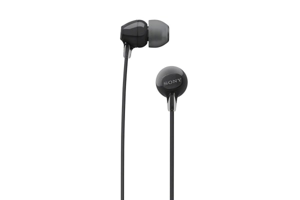 Sony Entry In-Ear Headphone with Bluetooth - Black (WIC300B)