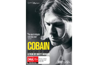 Kurt Cobain Montage of Heck DVD Region 4