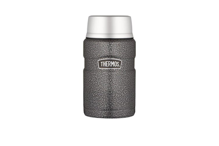 Thermos Stainless King Insulated Food Jar 710ml Hammertone