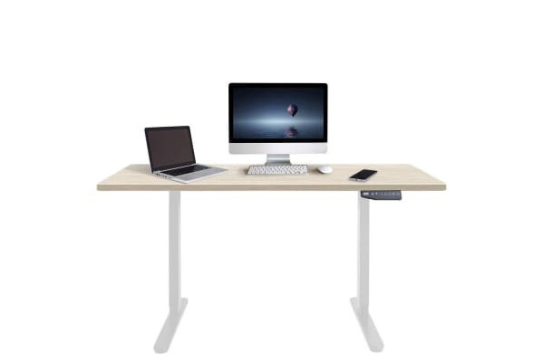 Dick Smith Height Adjustable Standing Desk Stand Up Motorised