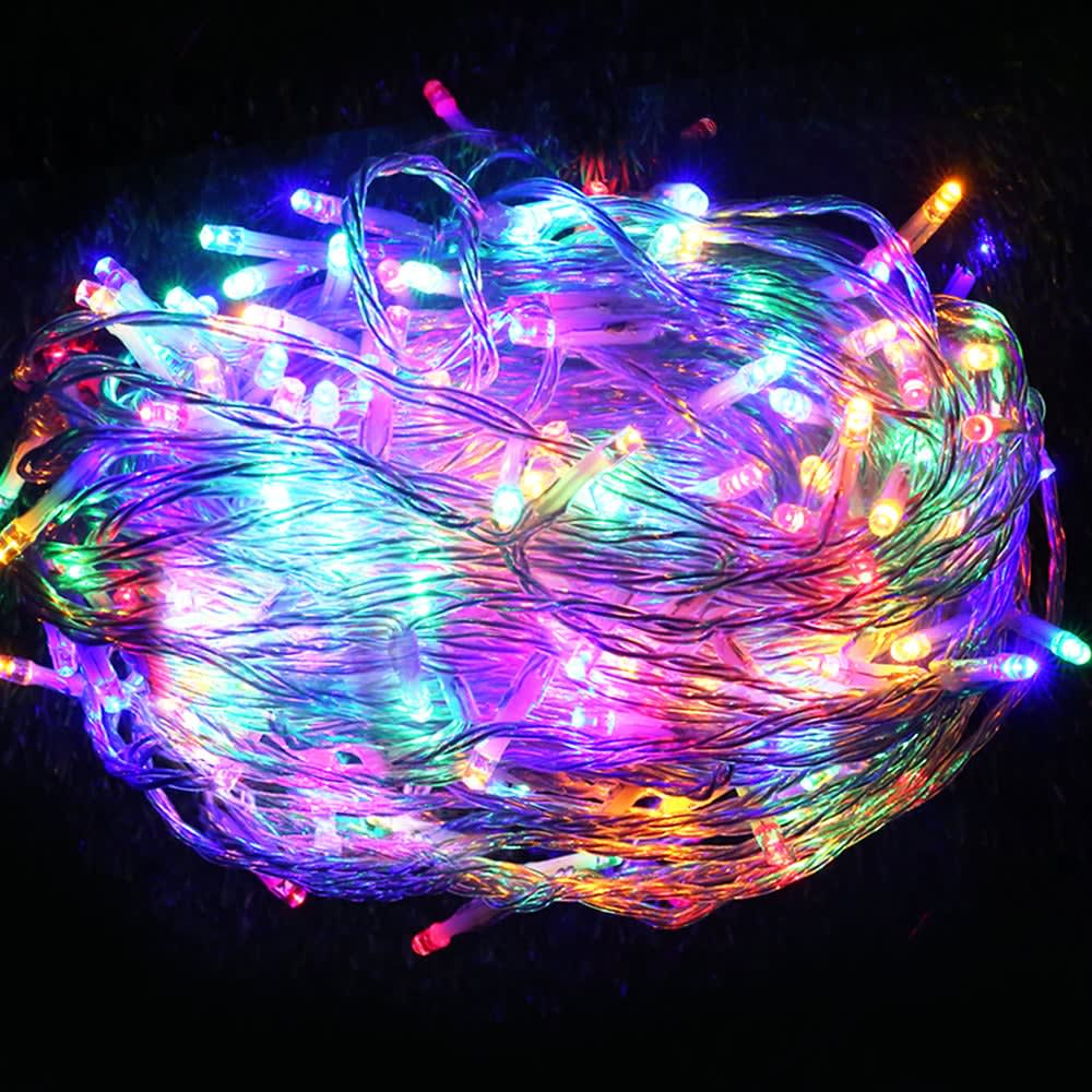 Image of 100m Christmas LED String Lights (Multicoloured)