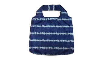 Davis & Waddell Reusable Bag 54x44cm Blue Stripe