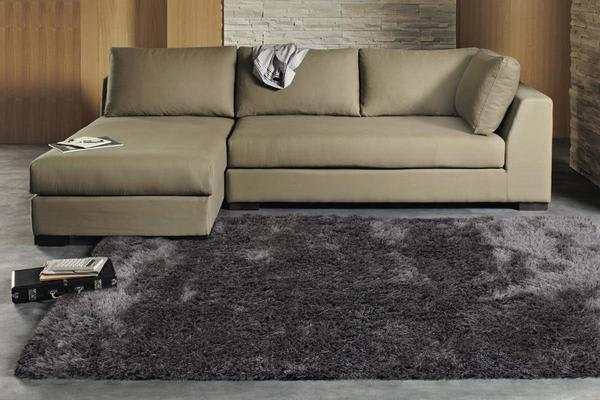 Twilight Shag Rug - Charcoal 145x75cm