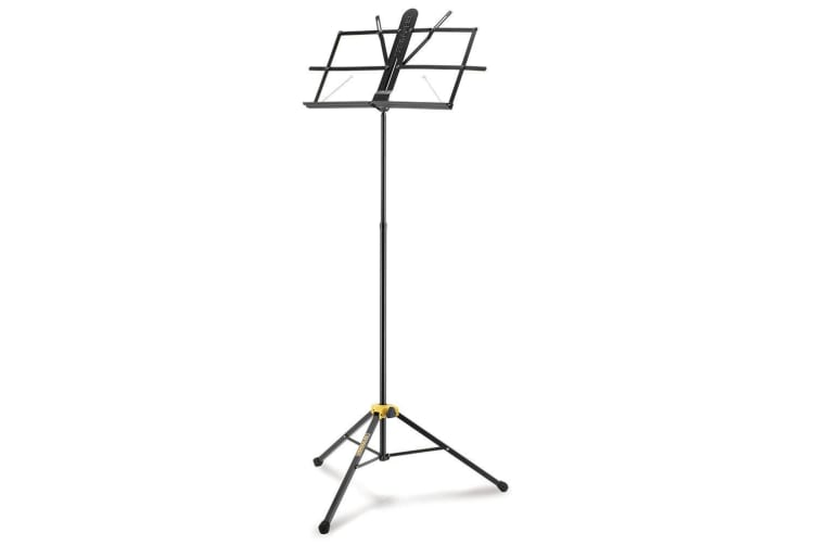 Hercules 2 Section EZ-Glide Foldable Tripod Stand/Holder for Music Sheet Black