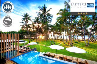 MISSION BEACH: 3/5 Nights at Castaways Resort & Spa, QLD
