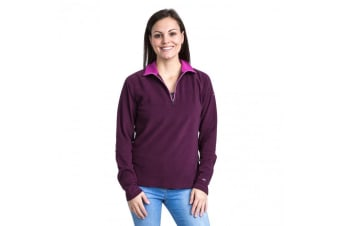 Trespass Womens/Ladies Skylar Fleece Top (Purple Orchid) (L)