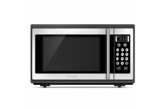 Breville 34L Quick & Easy 1100W Microwave Stainless Steel Cook/Defrost Kitchen