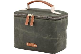 Tempa Classic Insulated Olive Green Lunch Bag