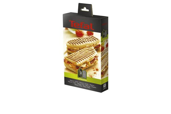 Tefal Snack Collection Accessory Plates Grill/Panini