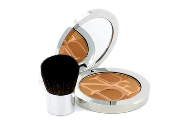 Christian Dior Diorskin Nude Tan Healthy Glow Enhancing Powder (With Kabuki Brush) - # 004 Sunset (10g/0.35oz)