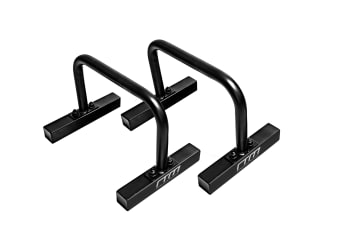Steel Parallette Bars Push Up & Dip Workouts