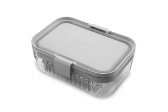 Packit Mod Lunch Bento Steel Gray