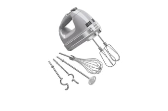 KitchenAid Artisan 9 Speed Hand Mixer Contour Silver