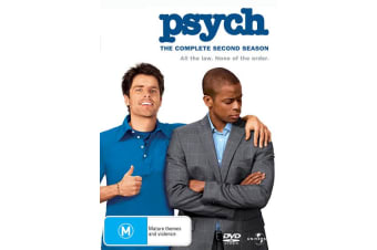 Psych The Complete Second Season 2 DVD Region 4