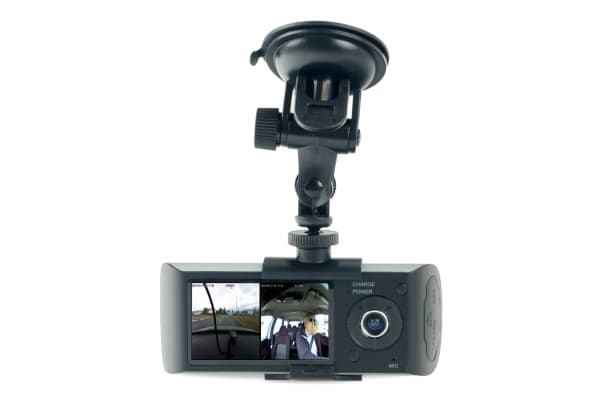 Kogan Dual Car Dash Camera Video Recorder with GPS
