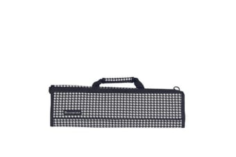 Messermeister 8 Pocket Knife Roll Houndstooth