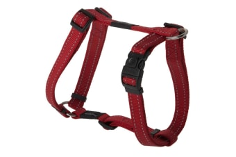 Rogz Utility Dog H-Harness (Red)