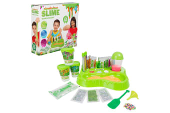 Nickelodeon Slime Maker/Making Station Game w 10x Instant Slime Mixer f Kids 5y+