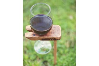 WineStains Picnic Wine Stake Single