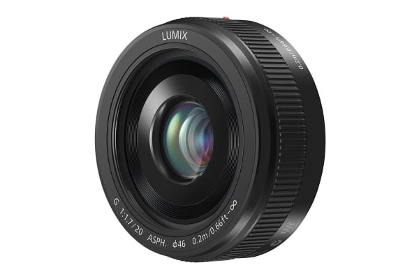 Panasonic Lumix G 20mm f/1.7 II ASPH. Lens (Black)
