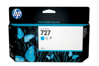 New Genuine HP 727 130ml Cyan DesignJet Ink Cartridge