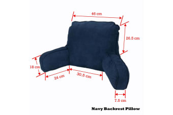 Standard Backrest Pillow Navy