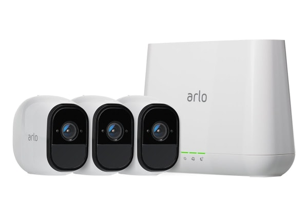 Netgear VMS4330 Arlo Pro - Indoor/Outdoor Wire-Free HD Home Security - 3 Camera System