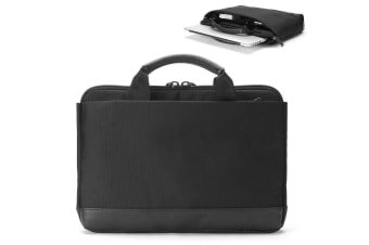 "Booq SLCP-BLKN Slimcase Pro Laptop Briefcase Carry Bag for 15"" Macbook/PC Black"