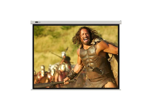 OPTIWERX 125 Inch Electric Motorised HD TV Projector Screen Home Theatre Projection