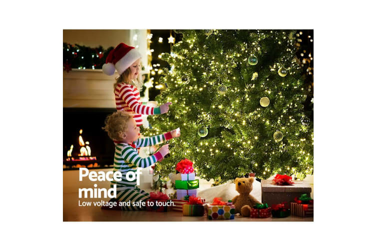 Christmas Tree 2.1M 7FT LED Light Pre Lit Xmas Decorations Green