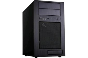 Silverstone Temjin TJ08B-E MATX Micro Tower Case   Black No PSU INCLUDE