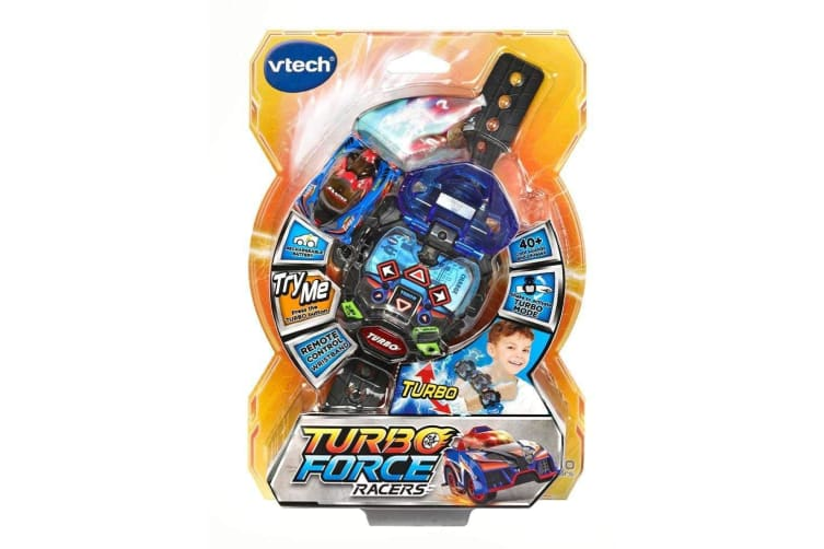 VTech Turbo Force RC Racer in Blue
